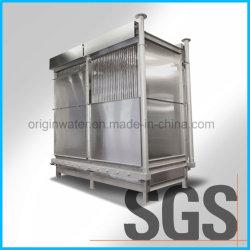 Biorreactor de membrana mbr Agua / Unidad de aguas residuales industriales y municipales Sistema de equipo de tratamiento de aguas residuales