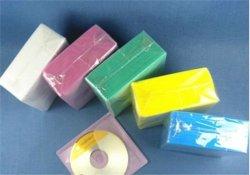 Plastikhülse der pp.-CD Hülsen-CD Hülsen-DVD ohne Adheresive für 2 Platten