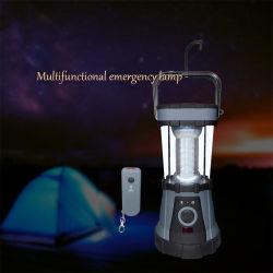 Светодиодный фонарь кемпинг с 24ПК+4ПК, сигнальная лампа 3D, аккумуляторной батареи загорается сигнальная лампа на открытом воздухе с компасом, крючок и пульт дистанционного управления