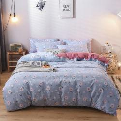 Design de luxe de Mode Linge en coton imprimé ensemble drap de lit