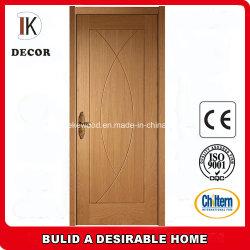 Пезаро внутренних дел разработан красного дуба деревянная дверь из шпона дизайн