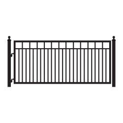Руководство по ремонту металлических сад безопасный защищенный бассейн ограждения ворот ручки боковой сдвижной двери