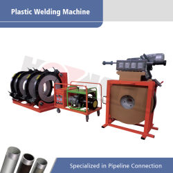 ماكينة لحام البطين الهيدروليكية لـ PVDF PPE PPR أنبوب الأنبوب القشدي 400mm-630mm (HL630)
