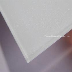 Claro Extra Colorlite Lacobel Shinning branco vidro pintado vidro T