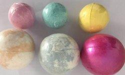 녹은 소금은 온천장 소금 공 또는 목욕 Fizzer 또는 목욕 폭탄 Handmade 목욕 ODM/OEM 비누 150g 폭발한다