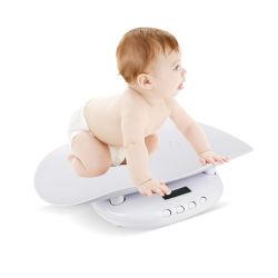 Salud bebé Báscula digital con la protección de la bandeja de columna vertebral