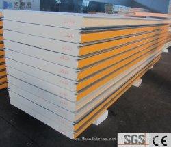Pannelli in PU/PIR isolati e ignifughi per costruzioni/materiali da costruzione per tetti/pareti a sandwich. 50mm/75mm/100mm/120mm/150mm/200mm/250mm Per conservazione a freddo/ambiente/Casa