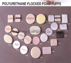 Maquillaje en polvo compacto afelpada Puff con cinta / Mesas acudían Puff Puff cuadrado /