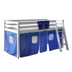 Midsleeper Cabin Bunk Bed용 블루 텐트