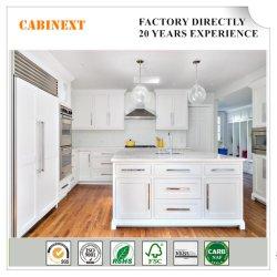 Diseño de armarios de cocina estilo Shaker Cherry Birch MDF Proyecto mayorista