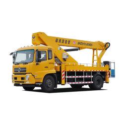 16M 고공 작업 플랫폼 트럭, 고고도 작업 차량, 후미리프트 트럭