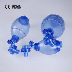 PVC Ambu Beutel PVC manuelle Beatmungsbeutel Fabrik mit CE, FDA für Kleinkinder Größe PVC Ambu Beutel mit PP-Box
