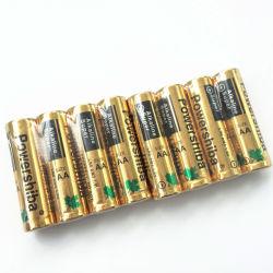 Precio barato LR6 Batería alcalina AA 1.5V/Blister 4 PC Card