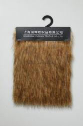 Faux Fur Fur Mayorista de tejido de felpa felpa de tejido de pelo largo