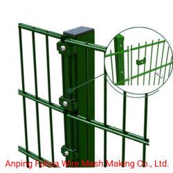Gate Low Carbon Steel 양측 와이어 펜스 및 이중 와이어 메시 펜스 PVC 코팅 격자