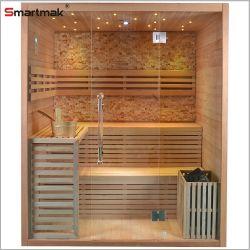 Nouveau modèle d'un Sauna Salle de bain salle de santé de haute qualité pour 3-4 Persoal sel salle de sauna à vapeur