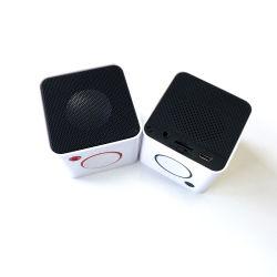 Verkaufsschlager-2020 Verbraucher-elektronische Geräte, Viereck MiniBluetooth Lautsprecher mit leuchten Firmenzeichen