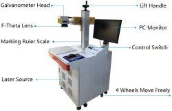 Identificazione e scultura bidimensionali di codice della mini del metallo della stampante della mascherina del laser macchina della marcatura