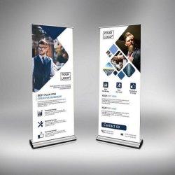 2020 горячей продажа алюминия и перекат Standee накопительный пакет обновления баннер подставки