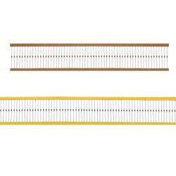 カーボンフィルムの固定抵抗器22KΩ 1/2W 5%
