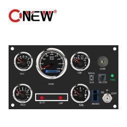 Niedrigster Preis-Digital-Kraftstoff-Messinstrument Vdo Kus LCD Kraftstoff-Messinstrument/Tachometer/Wassertemperatur-/Öldruck-Anzeigeinstrument 52mm mit Dieselkraftstofftank-Niveauschalter-Warnungs-Funktion