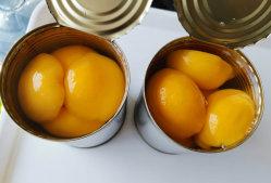 China Konservenobst Gelbe Konservenpfeach mit Private Label