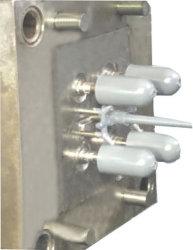 직업적인 주입 제조자 또는 플라스틱 주입 형 만들고 및 플라스틱 솔 바디 형 홈 사용은 관을 정리한다
