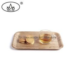 Удалите лак деревянный дом печати пепла в поверхность стола дисплей питание подают кухонных лоток
