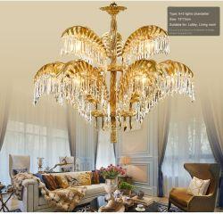 Masjid Indien Projekt-große europäische marokkanische Art-Moschee-Projekt-dekorative Glasmessingkundenbezogenheits-Kristallleuchter-Licht