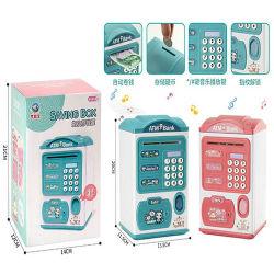 Deux couleurs de l'argent Boîte avec d'empreintes digitales de jouets