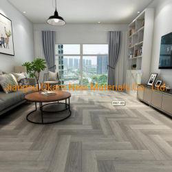 Diseño de madera PVC plástico Spc WPC piso vinílico haga clic en el piso de vinilo residencial/comercial