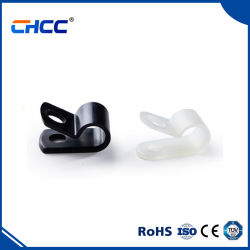 Kabelklemmen mit Schraubdraht, Typ R, CHCC Nylon Kabelhalter