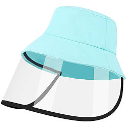 Logo personnalisé personnalisé d'impression de 1 à 3 ans enfants Cartoon animal conception anti-buée chapeau de protection des enfants le capuchon pare-soleil pour les garçons et filles sortie