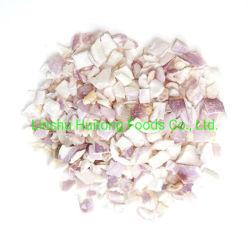 Best China Fornecedor Fábrica Congelar ervas secas de legumes cebola chalota em cubos