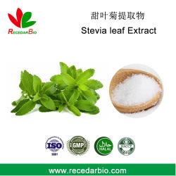 Édulcorant naturel Ra98 SG98 stévioside extrait de feuilles de stevia en poudre