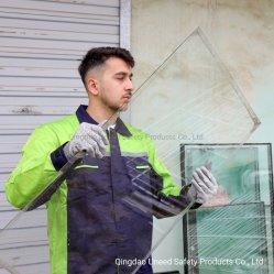 ガラス繊維アンチカットレベル 5 PU コーティングを施した HPPE 耐切断性作業用安全手袋