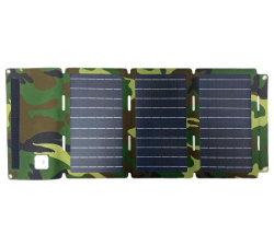 Melhor Venda 30W Painel Solar Dobrável Portátil Carregador Solar para Notebook/Big bateria para viagem/Camping
