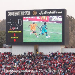 Alto Brillo 7000nits estadio P16, pantalla LED pantalla de publicidad