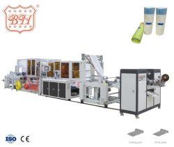 플라스틱 HDPE PE 폴리 드로스트링 Draw 문자열 로프 스루 백 롤링백 롤링한 핸들 가비지 휴지통을 위한 기계 만들기 폐기물 백