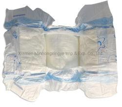 Fuga de algodón desechables pañales anti pantalones bebé Pañales de la calidad de la cinta de magia