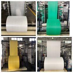Wirtschaftliche PP-Plastiktüte Gewofenes Polypropylen-Gewebe in Rolltasche PP gewebte Stoff benutzerdefinierte Breite Stoffrolle