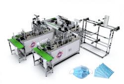 A linha de produção automática Non-Woven máscara facial de tecido/Máscara contra Poeira fazendo a máquina