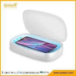 Multifunktions-UVsterilisator-drahtloser Aufladeeinheits-Handy-Sterilisator-Kasten-UVlampen-Sterilisator-Kasten