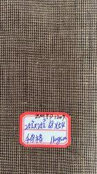L21*L21 순수한 리넨 직물 털실에 의하여 염색되는 Chambray 패턴 리넨 직물