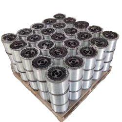 0.45mm 0.5mm Spulen-Verpackunggi-Draht, galvanisierter Eisen-Draht, einzelner weicher Draht für Wekzeugspritzen-Klipp