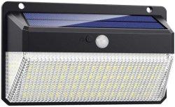 Panneau solaire LED étanche 228 Alimentation du capteur de mouvement IRP paroi extérieure des feux de Jardin Solaire