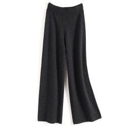 2020 Sweater tejido transpirable Casual mujeres confort luminoso pantalones