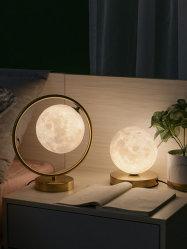 접이식 샤드 베드사이드 참조 침대 측면 충전식 호텔 LED 데스크 북유럽 스타일의 라탄 로탄 크리스탈 램프 테이블 램프 골드 그리고 검정
