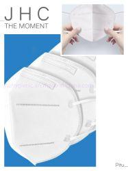 Mascherina protettiva a gettare della maschera di protezione KN95 commercio all'ingrosso basso di resistenza di alta preoccupazione di 5 strati