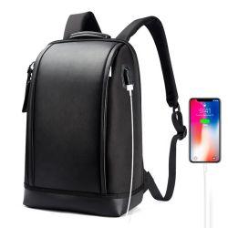 Tendenza sacchetto 2020 dello zaino del computer portatile di corsa del USB di furto di affari di nylon impermeabili di Microfiber di disegno dello zaino di anti con il caricatore